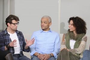 Discussion entre travailleurs sociaux