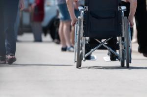 Handicap et fauteil roulant