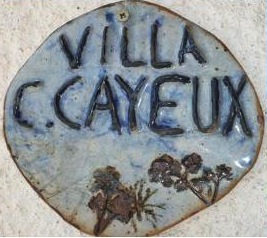 Logo de la Villa Claude Cayeux